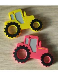 Mordedor de silicona tractor
