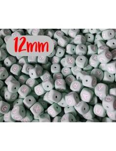 Letras de silicona 12mm MINT