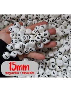 Letras de silicona 15mm...