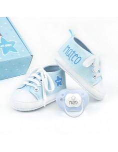 Cajita de regalo zapatillas...