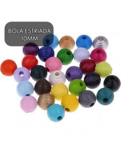 BOLAS ESTRIADAS 10MM
