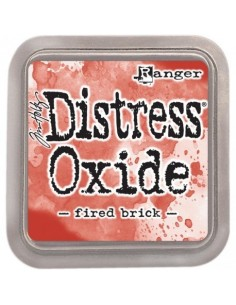 Tinta Distress Oxide FIRED BRICK