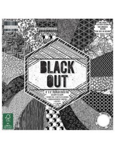 First Edition 8x8 FSC Paper Pad Black Out