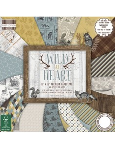 First Edition 8x8 FSC Paper Pad Wild at Heart
