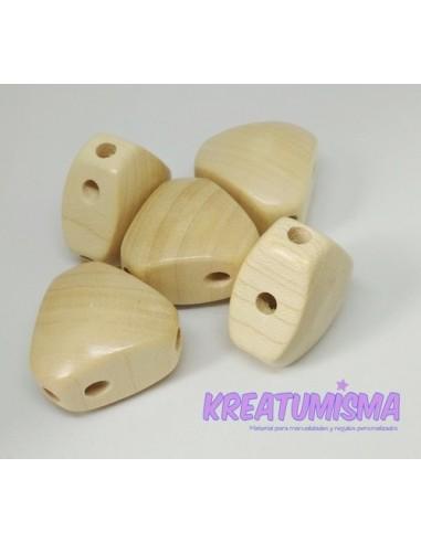 Cuerpo de madera triangular madera
