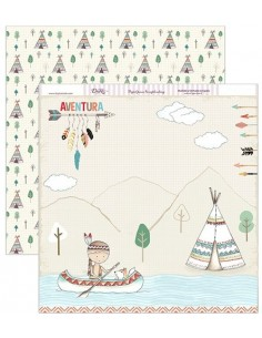 "Papel scrapbooking ""Indio"""