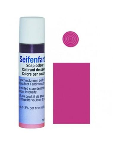 Colorante para jabones rosa10ml