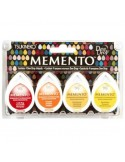 Tintas Memento Drops pack 4 Camp fire
