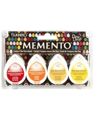 Tintas Memento Drops pack 4 Camp fire