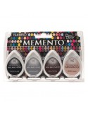 Tintas Memento Drops pack 4 Stone Mountain