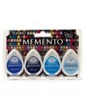 Tintas Memento Drops pack 4 Ocean