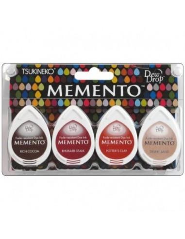 Tintas Memento Drops pack 4 Arizona Canyons