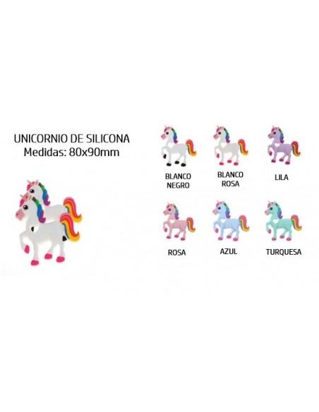 Unicornio de silicona 2