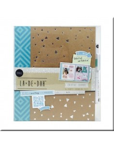 Album La De Dah Sparkle Journal & Glue pen