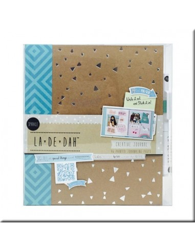 Album La De Dah Sparkle Journal & Glue pen