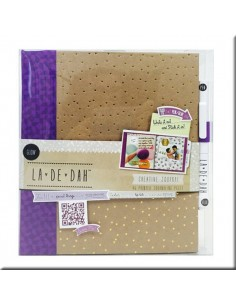 Album La De Dah Glow Journal & Glue pen