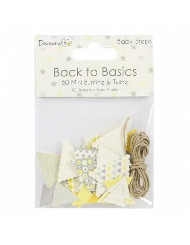 Mini banderines Back to Basics Baby Steps