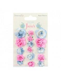 Flores de papel Dovecraft Couture du Jour