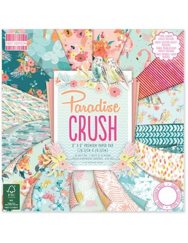 First Edition 8x8 Paradise Crush