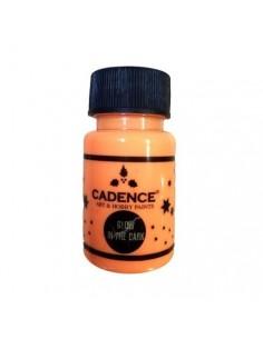 Pintura luminiscente naranja Cadence