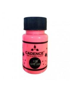 Pintura luminiscente rosa Cadence