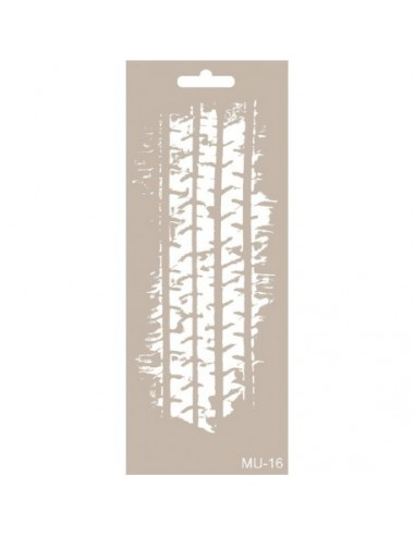 Stencil Mix Media neumáticos