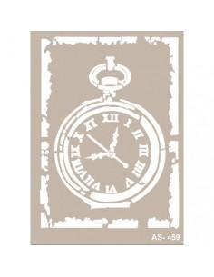 Stencil Reloj de bolsillo