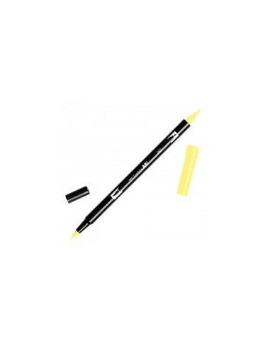 Rotulador Tombow Dual brush ABT 062 Pale Yellow