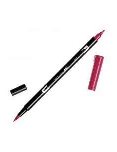 Rotulador Tombow Dual brush ABT 847 crimson