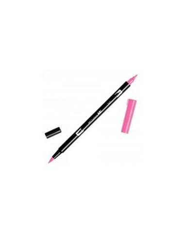 Rotulador Tombow Dual brush ABT 743 hot pink