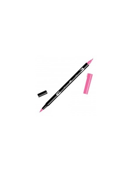 Rotulador Tombow Dual brush ABT 743 hot pink