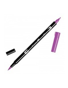 Rotulador Tombow Dual brush ABT 665 purple
