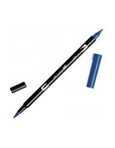 Rotulador Tombow Dual brush ABT 528 navy blue