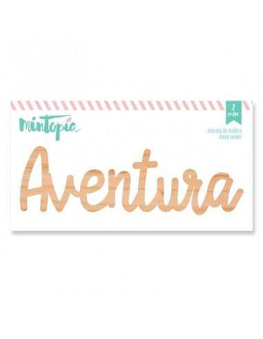 """Maderita """" Aventura """" de Mintopía"""