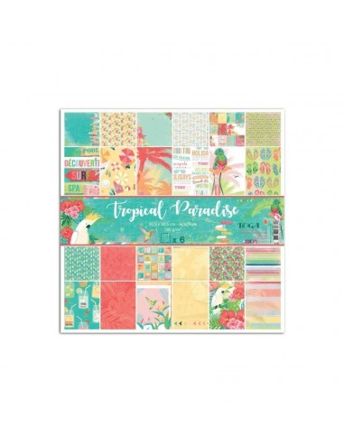 kits papeles Tropical Paradise