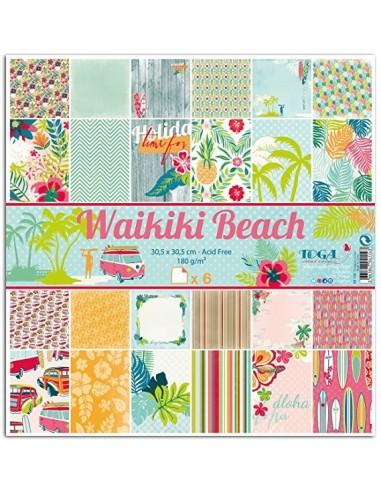 kits papeles Waikiki beach