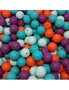 Bolas de silicona basketball 16mm