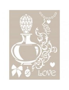 Stencil Perfume love Cadence