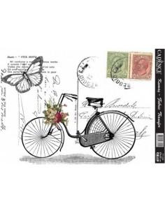 Transfers para tela bici y postales
