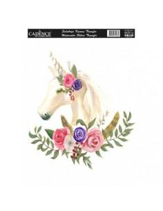 Transfers para tela unicornio