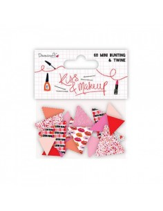 Mini banderines kiss and make up