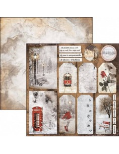 Papel scrap have a happy snowy day