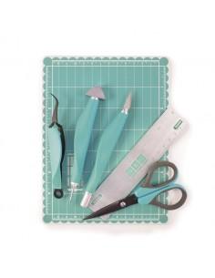 Mini tool kit aqua