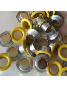 Eyelets basic amarillo ( 50 unidades )