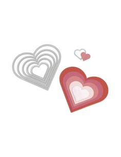 Set troqueles Framelits Hearts