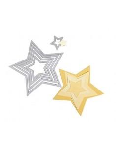 Set troqueles Framelits Stars