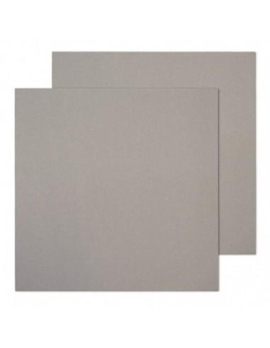 Cartón contracolado gris 20x20cm