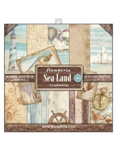 Kit papeles Stamperia Sea Land