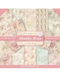 Kit papeles Stamperia Shabby rose