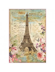 Papel arroz Paris tour Eiffel